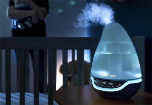 Humidifier une chambre en hiver : Utilisez un humidificateur à vapeur froide