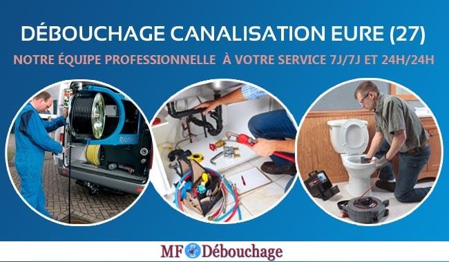 Lavabo bouché à Eure (27): Appelez MF Debouchage