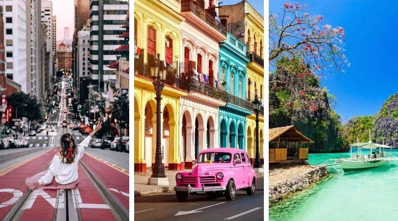 22 meilleurs endroits à visiter dans le monde