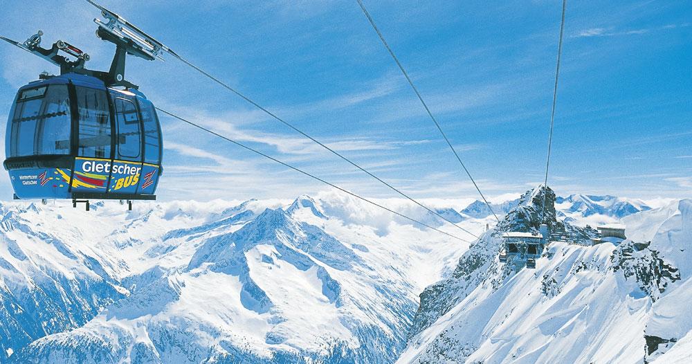 Glacier De Hintertux, Autriche