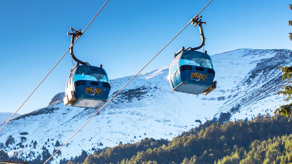 Station De Ski De Bansko, Bulgarie