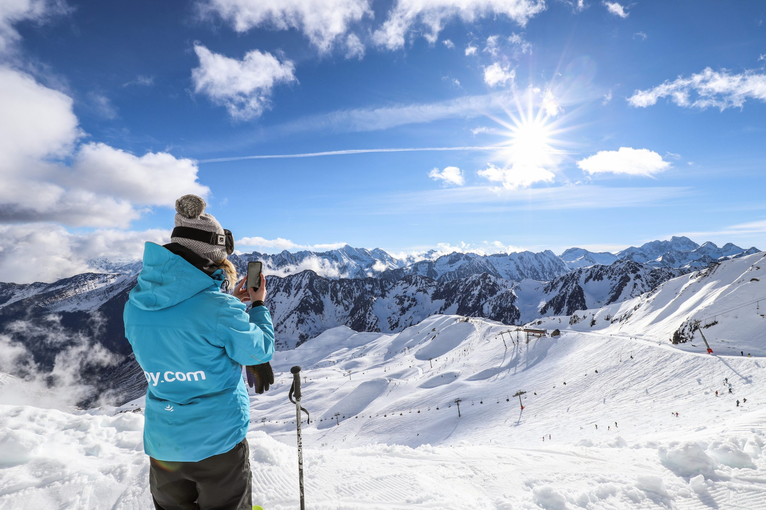Station De Ski De Cauterets, Pyrénées Françaises