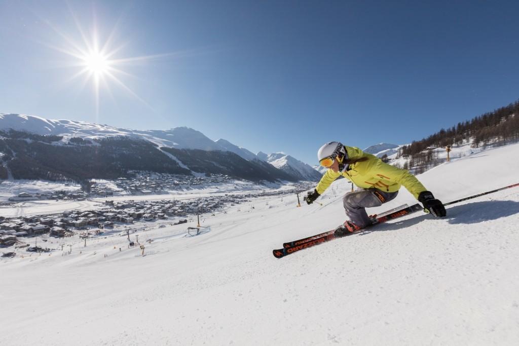 Station De Ski De Livigno, Italie