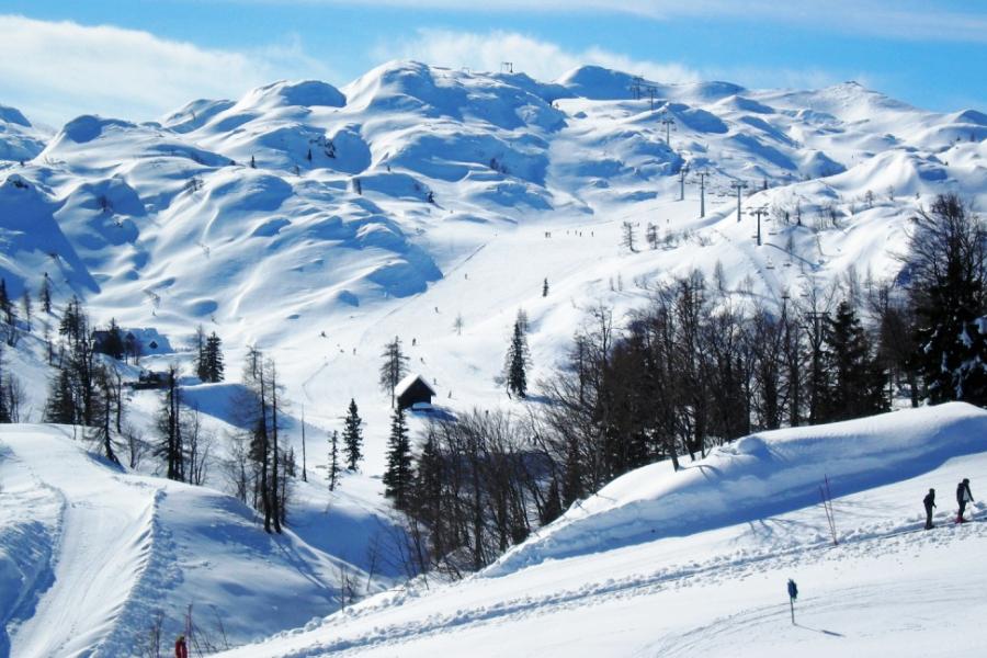 Station de Ski de Vogel, Slovénie