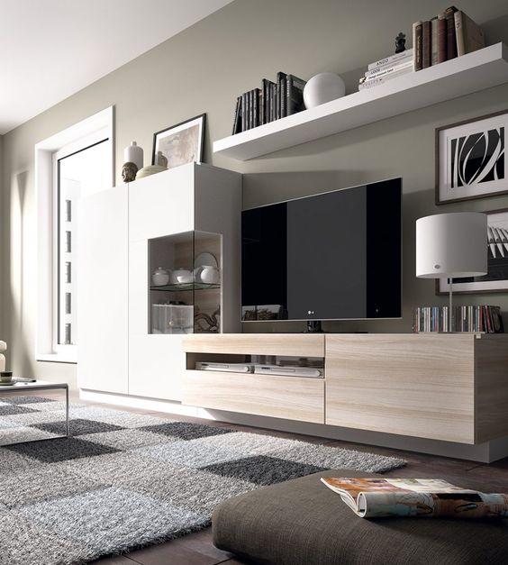meuble TV de style armoire