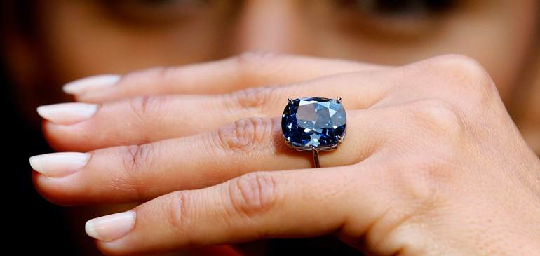 Blue Moon of Josephine - 48,4 millions de dollars