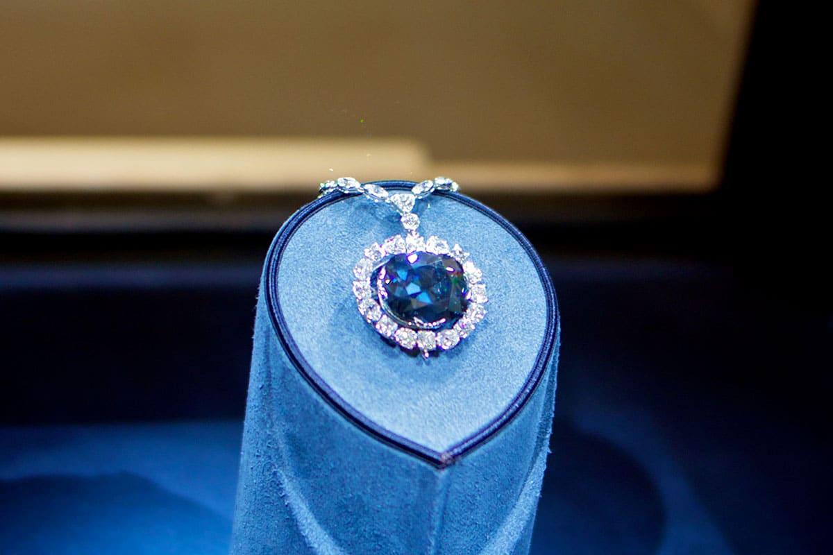 Hope Diamond - 250 millions de dollars