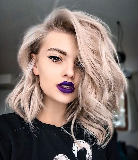 couleurs de cheveux d'été