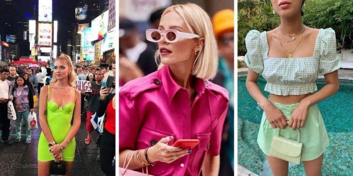 6 couleurs improbables que les filles portent ce mois-ci